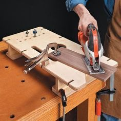 Make your own (with template and measurements) from Multipurpose Workbench Table   Woodsmith Tips
