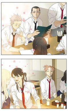 Manga Tamen De Gushi - Chapter 136 - Page 5 Anime Girlxgirl, Comics Anime, Chica Anime Manga, Anime Kawaii, Anime Love, Manga Yuri, Yuri Anime, Tan Jiu, 19 Days