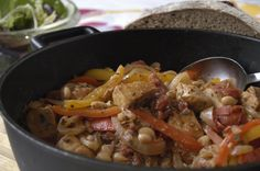 The title of this menu evokes family dinners — warm, cozy and satisfying. All the chef needs to add is good company and conversation. This recipe can be expanded for a crowd (as is serves 4). Leftovers are great for during the week.    Part of the Swedish Healthy Recipes collection (heart healthy, recipe, dinner).