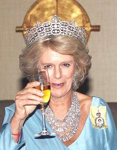 THE DUCHESS of Cornwall has out-dazzled the Queen in one of the most opulent royal necklaces ever seen.