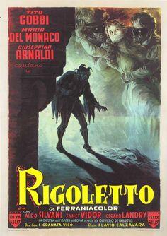 Anselmo Ballester Poster for the 1954 Italian film
