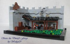 Steve the Dwarf's forge by Wedege09 on Flickr