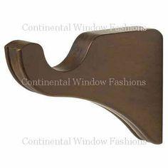 Curtain Hangers, Wood Curtain Rods, Curtain Rod Holders, Wood Brackets, Shelf Brackets, Drapery Hardware, Home Hardware, Window Styles, Made Of Wood
