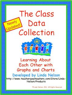 """FREE  set of 9 graphing and tallying activities. Great for """"getting to know you"""" at the beginning of school!"""
