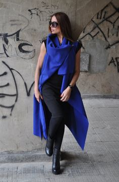 BE THE EPITOME OF CHIC IN THIS STYLISH COAT VEST All Sizes Assorted Colors Shawl…