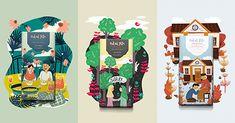 Коммерческий и концептуальный дизайн упаковки, брендинг, маркетинг, а также персоны и студии, которые за этим стоят Food Packaging Design, Pretty Packaging, Packaging Design Inspiration, Brand Packaging, Branding Design, Logo Design, Postcard Design, Creative Advertising, Bottle Design
