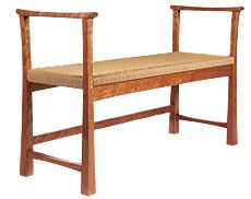 Preview - A Modern Bench - Fine Woodworking Article