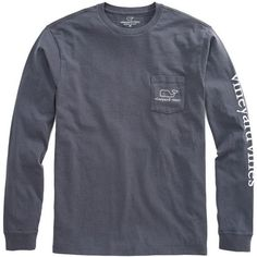 NWOT! Dark Gray Vineyard Vines Shirt Dark Gray Size Medium. Brand new. Only been tried on. Will sell on Merc for cheaper. I'd much rather sell on Merc! CONTACT ME BEFORE BUYING! Vineyard Vines Tops Tees - Long Sleeve
