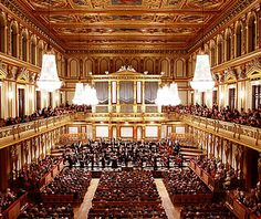 Musikverein, Vienna - the best place to listen to classic! I had great moments there.