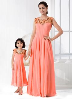 2019 Fashion Mommy And Me Dresses Floral Family Matching Mother Daughter Clothes Casual Women Party Dresses Kids Girls Sundress Beach Outfits We Take Customers As Our Gods Mother & Kids