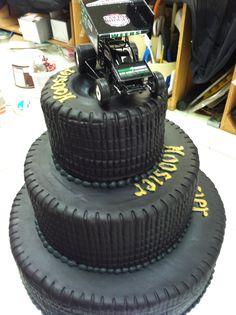 Tire cakes