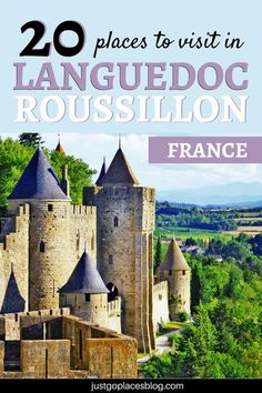 The Languedoc Roussillon region is located in the Southwest of France, and offers something for everyone, including charming cities, mountains, and the beautiful Mediterranean sea. The best things to do in Languedoc, France include visiting  Carcassone, P