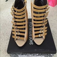 I just discovered this while shopping on Poshmark: Brand new heels. Check it out!  Size: 7
