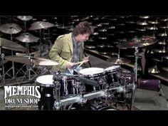 Todd Sucherman (STYX) Drum Solo at Memphis Drum Shop   #Drums #STYX