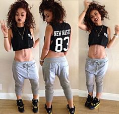 7e35cd4070c990 47 Awesome Girls With Jordan OutFit Swag images