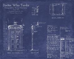 Blueprints for the Tardis!