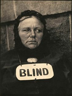 Paul Strand (American, 1890–1976). 'Blind' 1916