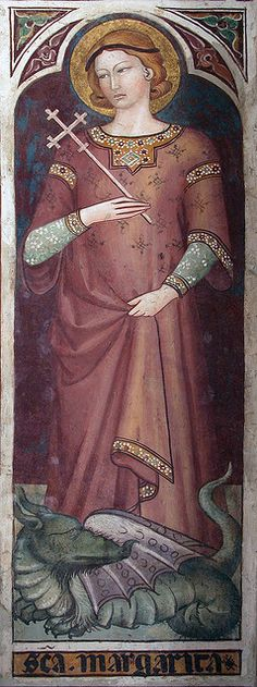 14thC fresco fragment in San Francesco, Siena...    by mym, via Flickr