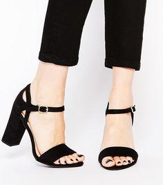New Look 2 Part Block Heel Sandals