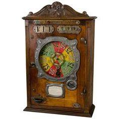 Французский 1911s Игровой автомат 'La Рулетка Bussoz'