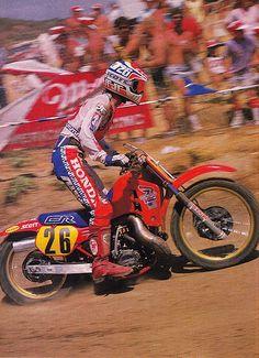 David Bailey 1987 CR250