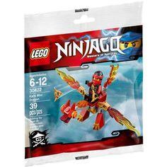 Ninjago Kai's Mini Dragon Mini Set LEGO 30422 [Bagged] - Walmart.com