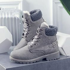Women's Fashion Martin Boots waterproof Snow Boots Winter Keep Warm Short Boots Ankle Boots Size Xavier Rudd, Winter Fashion Boots, Winter Snow Boots, Martin Boots, Junior, Living At Home, Womens Fashion For Work, Short Boots, Keep Warm