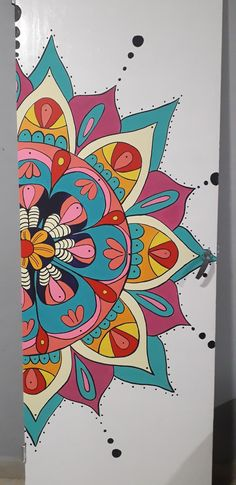 Mandala Painting, All Craft, Coloring Book Pages, Room Paint, Stencils, Doodles, My Arts, Diy, Wall Art
