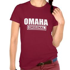 Are you a OMAHA native? then Show some city love with your very own OMAHA ORIGINAL style graphic tee. It comes in a variety style,colors & sizes so come on and get yours today www.citystyletees.com.