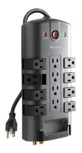 Belkin Pivot-Plug Power Strip Surge Protector with Power Cord, 4320 Joules The Belkin Surge Protector protects your electronic devices from surges and spikes. Electronics Projects, Electronics Gadgets, Tech Gadgets, Linux, Macbook, Wallpaper Free, Android, Electronic Devices, Laptop Accessories