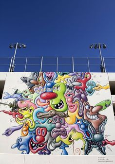 Kenny Scharf, Streets: West Hollywood Library Wrapup