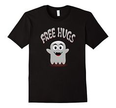 Free Hugs Vampire Ghost Funny Kids Halloween T-Shirt #witch #witchcraft #wicca #wiccan #pagan #paganism #paganhumor #halloween #yule #vampire #ghost