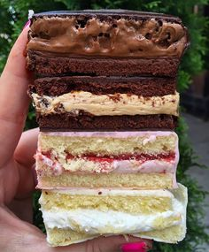 Ring Dings @ SMORGASBURG from @duaneparkpatisserie on Saturdays! (top➡️down: Nutella, dulce de leche, strawberry shortcake, lemon) #duaneparkpatisserie