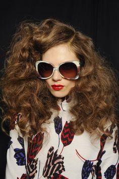 Marc Jacobs A/W 2013-14 Big hair