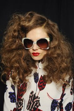 Marc Jacobs A/W 2013-14 - I will be attempting this hairstyle #hair