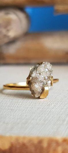 Garnet Ring Grossular Garnet Leuco Garnet Demantoid Ring White #garnet #leucogarnet #whitegarnet #ring