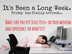 It's been a long week. But don't worry, Friday has finally arrived!  #JpCanada #Healthyliving #Nutrition