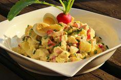 V kuchyni vždy otevřeno ...: Jarní bramborový salát Potato Salad, Side Dishes, Food And Drink, Menu, Potatoes, Snacks, Dinner, Cooking, Ethnic Recipes