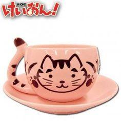 K-ON!: Azunyan Tasse  Oh my god! I need this <3