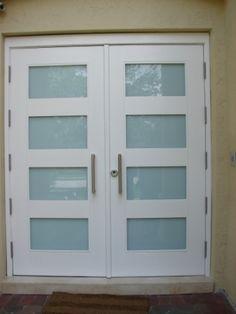 exterior door. alternative to french or sliding doors that open ...