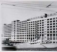 Montgomery Ward and Company Warehouse :: Archival Image & Media Collection