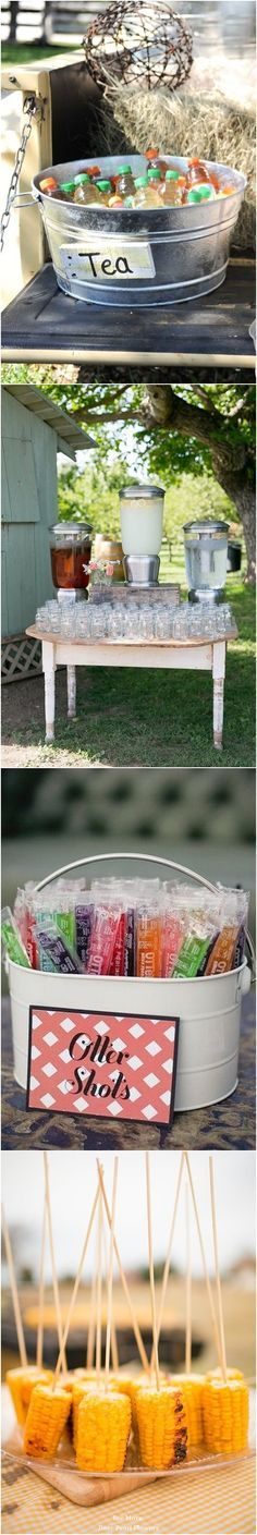 Top 25 Rustic Barbecue BBQ Wedding Ideas / http://www.deerpearlflowers.com/barbecue-bbq-wedding-ideas/