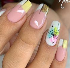 Nail Arts, Cute Nails, Nail Colors, Manicure, Nail Designs, Beauty, Enamels, Short Nail Manicure, Pretty Nails