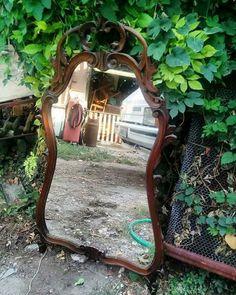 Specchiera in legno 115x64 cm  € 80 Adatta anche per lo shabby