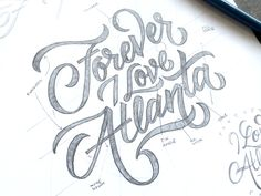 Forever ATL sketch by Wells