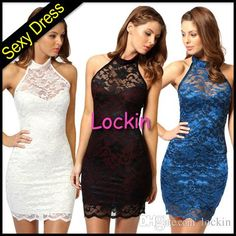 Backless Prom Sleeveless Hanging Neck Sexy Lace Hollow Out Nightwear Hip Dresses for Women Fashion Evening Slim Banquet Party Clothes from Lockin,$6.69 | DHgate.com