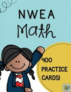 Here's a MEGA pack of 400+ quick questions aligned with RIT Bands 131-190 for math! NWEA MAP Testing is aligned with Common Core Standards. This pack of cards will support all first graders, as well as provided rigorous practice for kindergarten and intervention skills for second grade.
