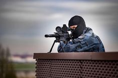French gendarmerie sniper. Law And Order