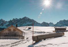 Martedì: voce sintetizzata.   Malga Klammbach Passo Monte Croce Comelico Sesto.