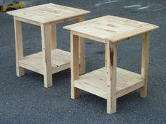 Side Table with Shelf   Do It Yourself Home Projects from Ana White